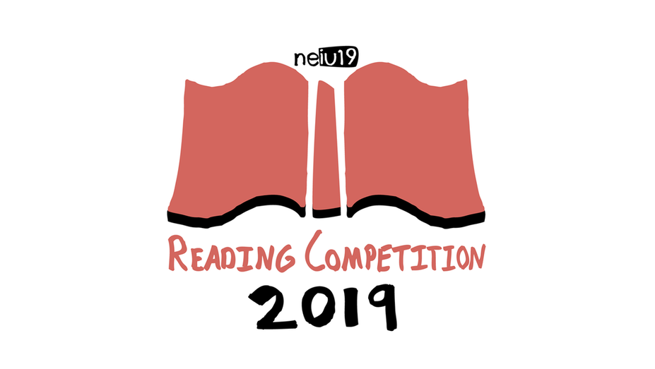 TristanTreg NEIU Reading Competition logo portfolio